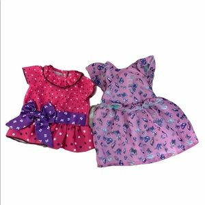 DOLL dresses - American Girl or Cabbage Patch